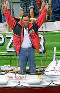 Tom McClean Atlantic Rower